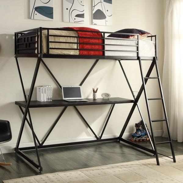 Zinnia Study Bunk Bed
