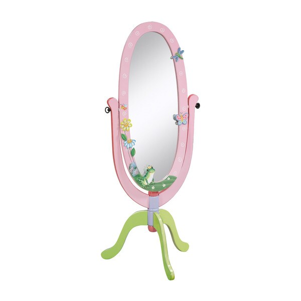 Magic Garden Oval Mirror