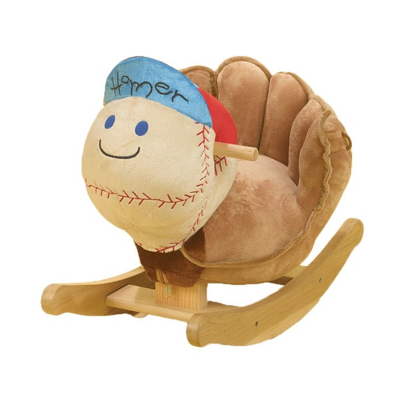 Rockabye Homer Baseball Rocker 16585688
