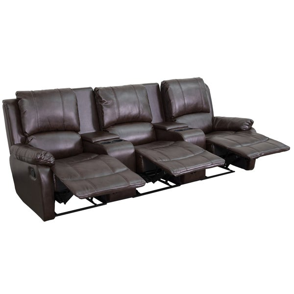 3-Seat Home Theater Recliner 16585764