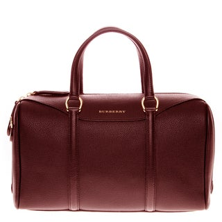 Burberry Medium Alchester Grainy Leather Handbag