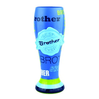 Pilsner Beer Glass - Brother (Set of 4)