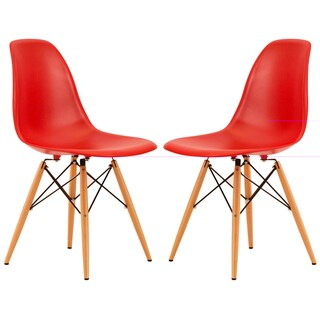 Dover Red Side Chair (Set of 2)
