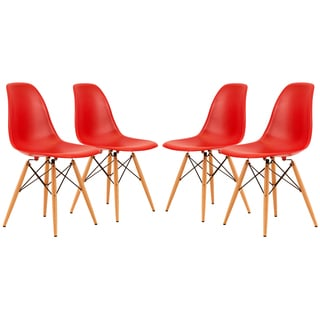Dover Red Side Chair (Set of 4)