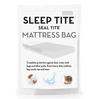 Seal Tite Heavy-Duty Sealable Mattress Storage Bag
