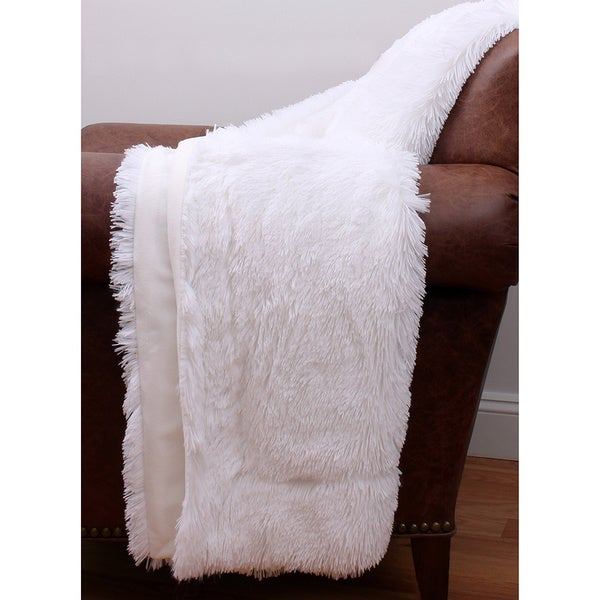 Chubby Faux Fur Throw