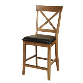 Family Dining Chestnut X-Back Bar Stool Set of 2