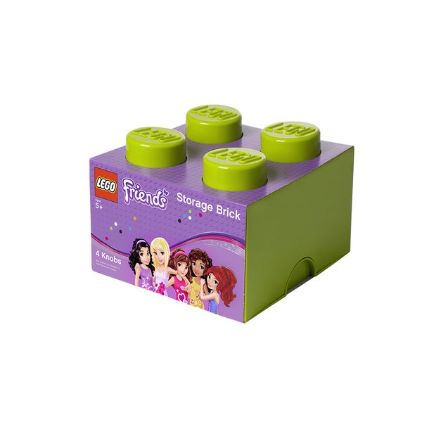 LEGO Friends Lime Green Storage Brick 4