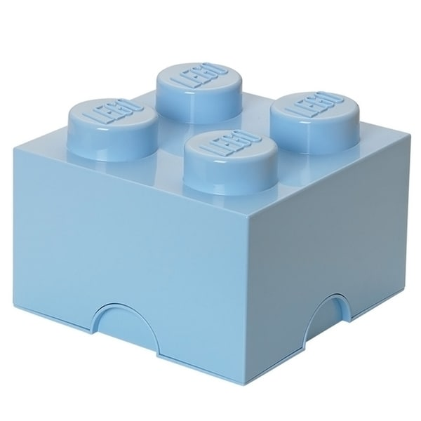LEGO Light Blue Storage Brick 4