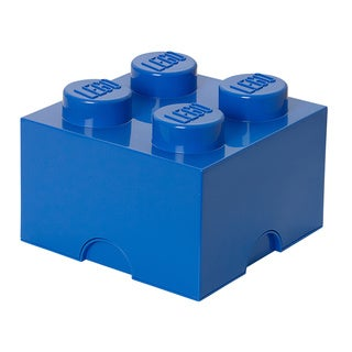 LEGO Bright Blue Storage Brick 4