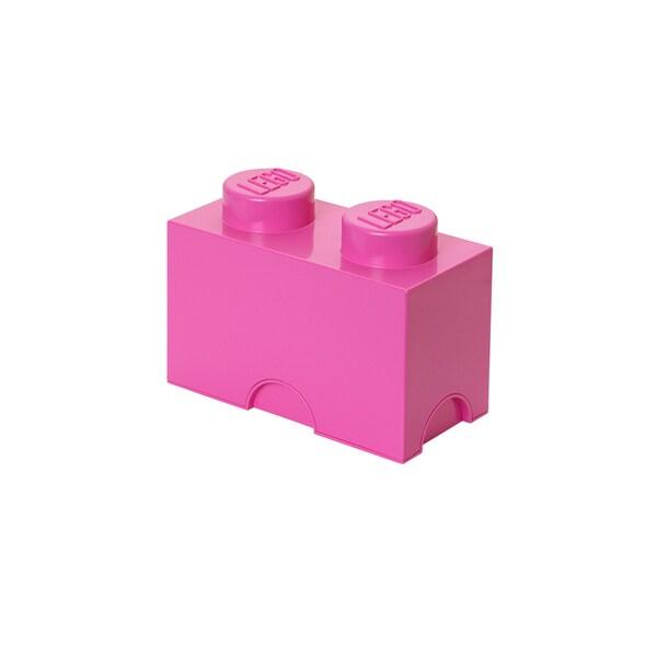 LEGO Bright Pink Storage Brick 2
