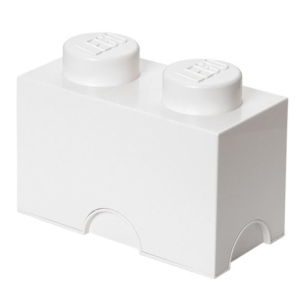 LEGO White Storage Brick 2
