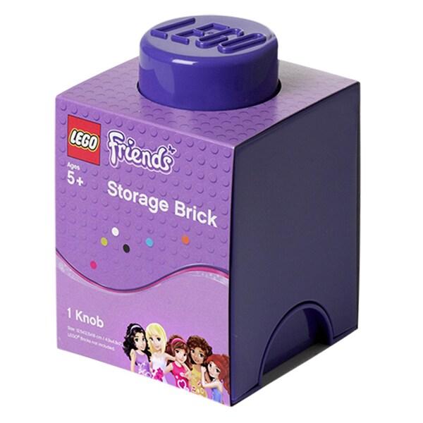 LEGO FRIENDS Medium Lilac Storage Brick 1