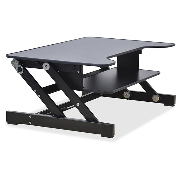 Lorell Sit-to-Stand Monitor Riser - 17809845 - Overstock Shopping