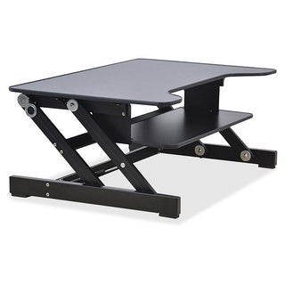 Lorell Sit to Stand Monitor Riser