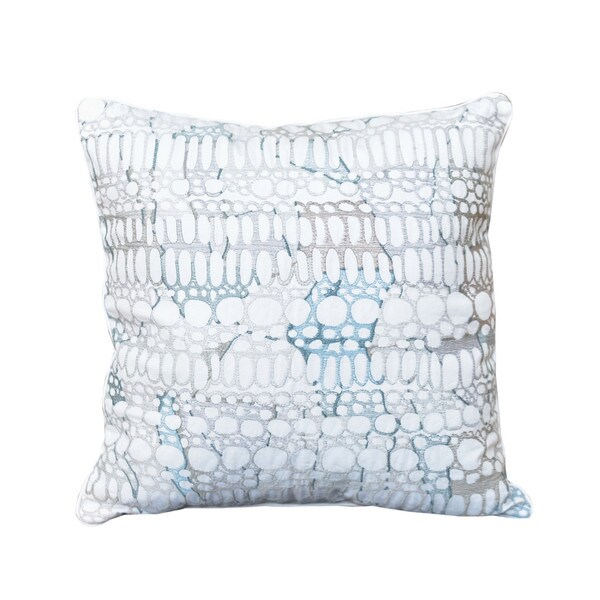 Shell Rummel Square Pebble Decorative Pillow