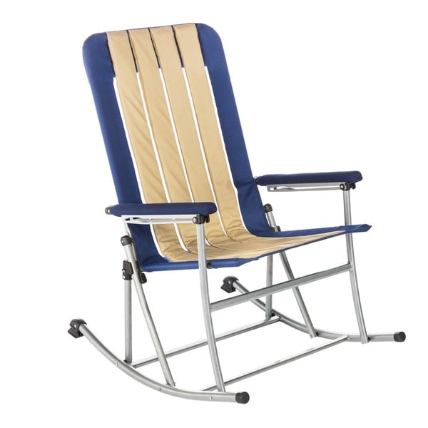 about Rocking Chair Outdoor Vintage Furniture Folding Camping Rocker ...