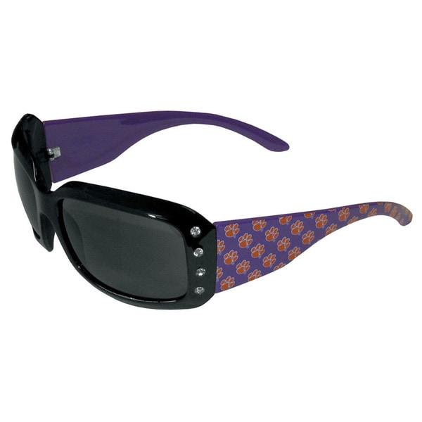NCAA Clemson Tigers Womens Designer Bling Sunglasses