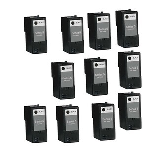 10PK Compatible M4640 Black Ink Cartridge For Dell 922Dell 924Dell 942Dell 944Dell 946Dell 962Dell 964Dell ( Pack of 10 )