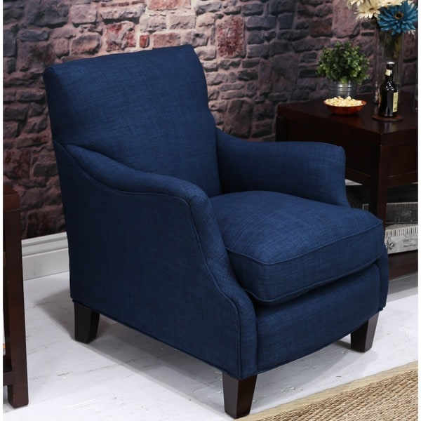 Somette Emma Roma Blue Club Chair