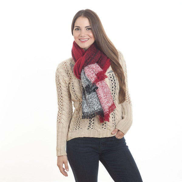 Knitted Design Scarf 16588197