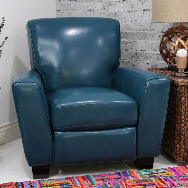 Somette Nadia Mayfair Peacock Pushback Recliner
