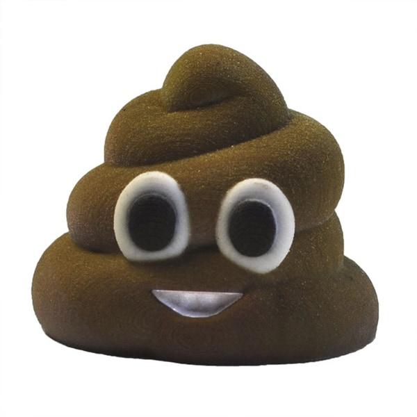 3D Printed Emoji Mr. Poo
