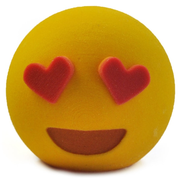 3D Printed Emoji Love