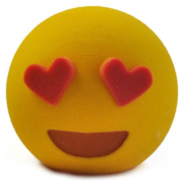 3D Printed Emoji Love