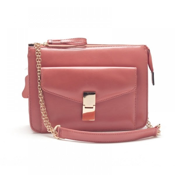 Eastside Macaron Pink Leather Mini Handbag
