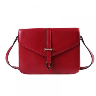 Eastside Letter Shape Leather Mini Handbag