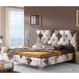 Luca Home Platform Bed Mokka