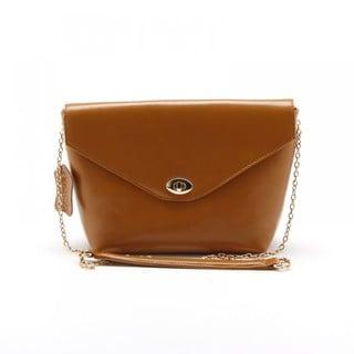 Eastside Gold Chain Leather Crossbody Handbag