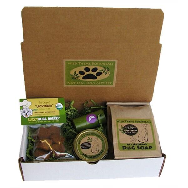 Wild Thyme Botanical's Natural Dog Gift Set