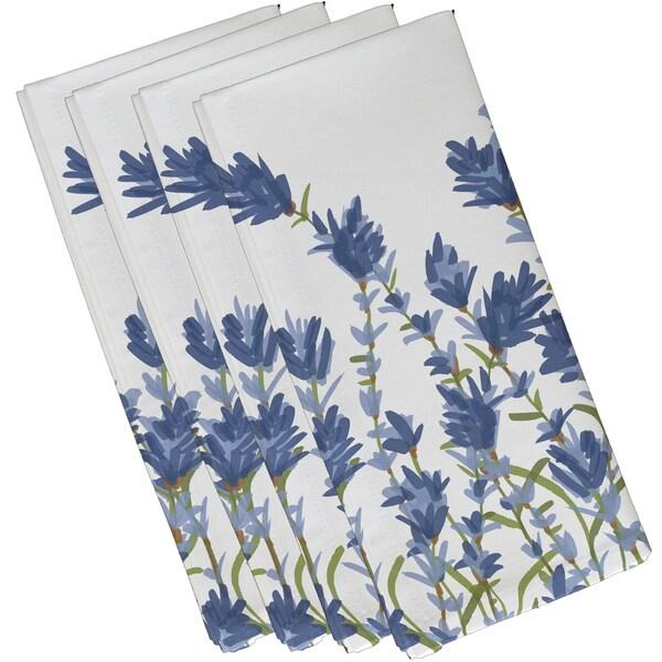 Lavender Floral Napkins