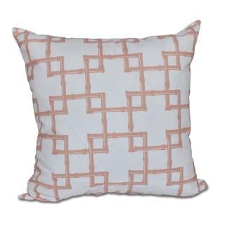 Bambies 2 Geometric Print Pillow