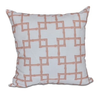 Bambies 2 Geometric Print 16-inch Pillow