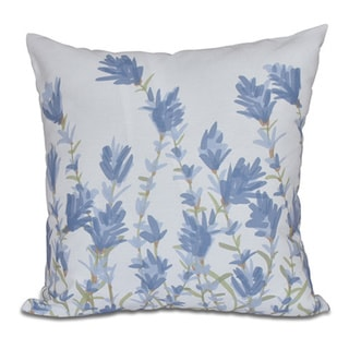 Floral Print Lavender Pillow