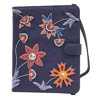 Leather Vibrant Garden Tablet Case