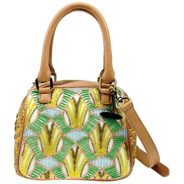 Leather Island Fever Handbag