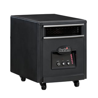 Duraflame 7HM1000 Black Portable Electric Infrared Quartz Heater