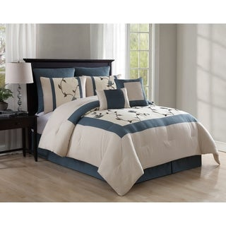 VCNY Trousdale Embroidered 8-piece Comforter Set