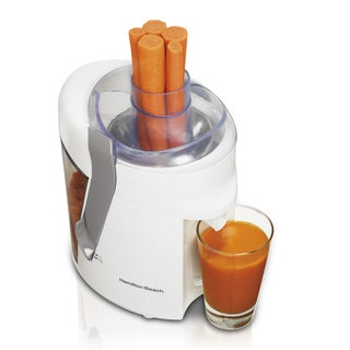 Hamilton Beach 67804 White Health Smart Juice Extractor