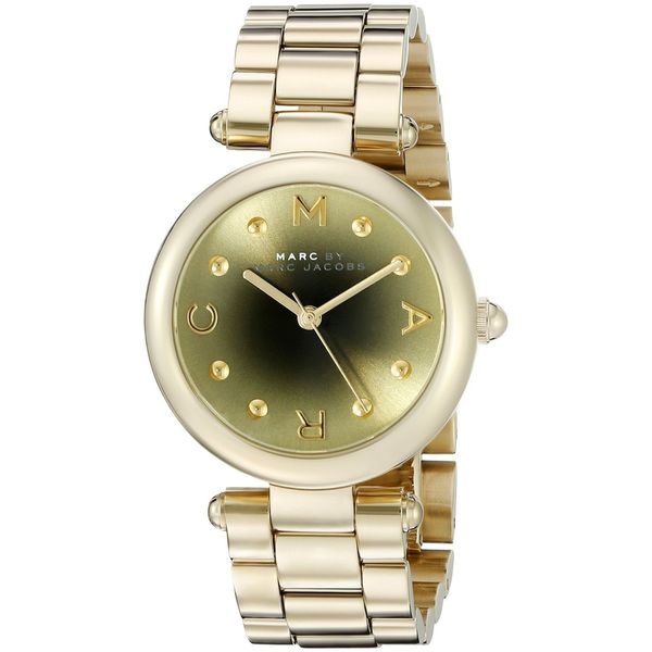 Marc Jacobs Women's MJ3448 'Dotty' Gold-Tone Stainless Steel Watch