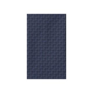 Basketweave Geometric Print Tea Towel