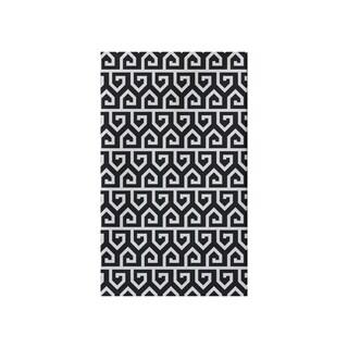 Keyed Up Geometric Print Tea Towel