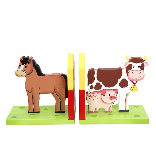Teamson Fantasy Fields Happy Farm Bookends Set