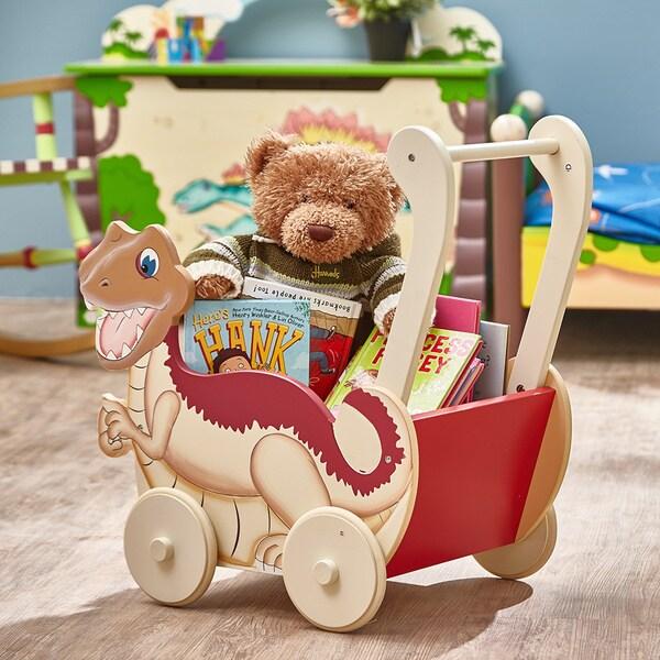Teamson Fantasy Fields Dinosaur Kingdom Push Cart
