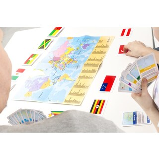 Tactic Flags of the World Card Game