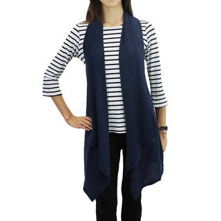 Relished Women's Blue Fully Vested Vest